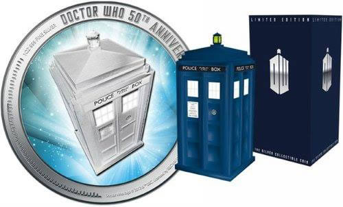Doctor Who 50th anniversary coin