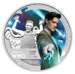 New Zealand Doctor Who Silver Dollar, 11th Doctor