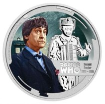 New Zealand Doctor Who Silver Dollar mint coins