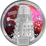 Dalek Silver Dollar from New Zealand