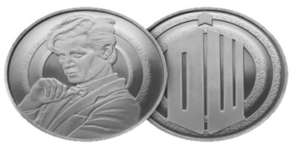 Doctor Who BBC/Royal Mint Collector Medals $3 (Reg. $8) One per customer.