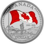 2015 Flag Dollar Coloured