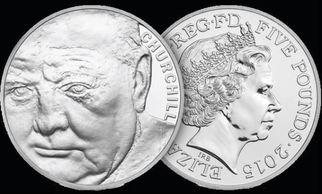 Churchill 2015 Five Pound