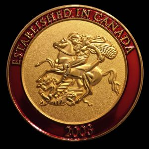 St  George Challenge Coin 2