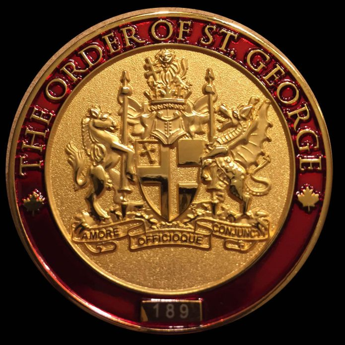 St George Challenge Coin