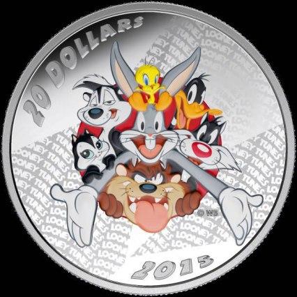 Loonie Tunes $20 Silver