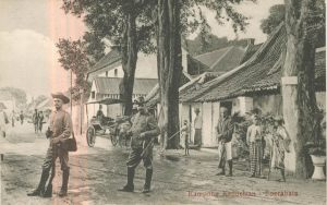 Dutch Colonial Troops in Surabaya ca1930
