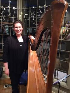 Our Harpist, Robin Best