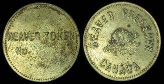 Canada Beaver Preserve Token I