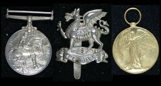 WWI Medal Trio to Lee Royal East Kent Regiment I