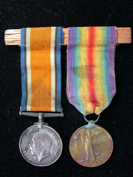 Great War Pair of Medals 1914-1919 (back)