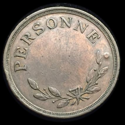 Montreal 1808 6 pence bridge token