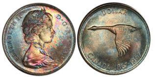 1967 Centennial Silver Dollar