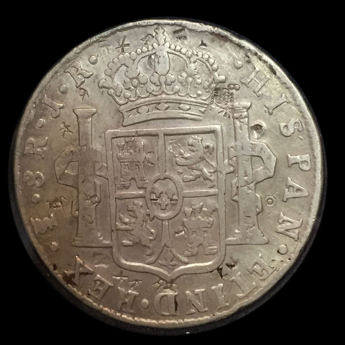 Bolivia 8 Reales 1776 Reverse