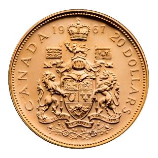 Centennial $20 Gold