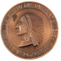 Centennial Friendship medal