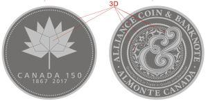 Canada 150 trade medals