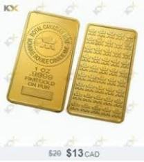 fake Gold bar online