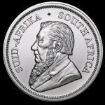 Back of Silver Krugerrand