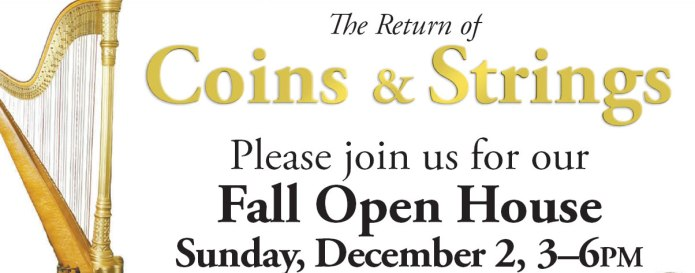 Coins & Strings 2018 Open House