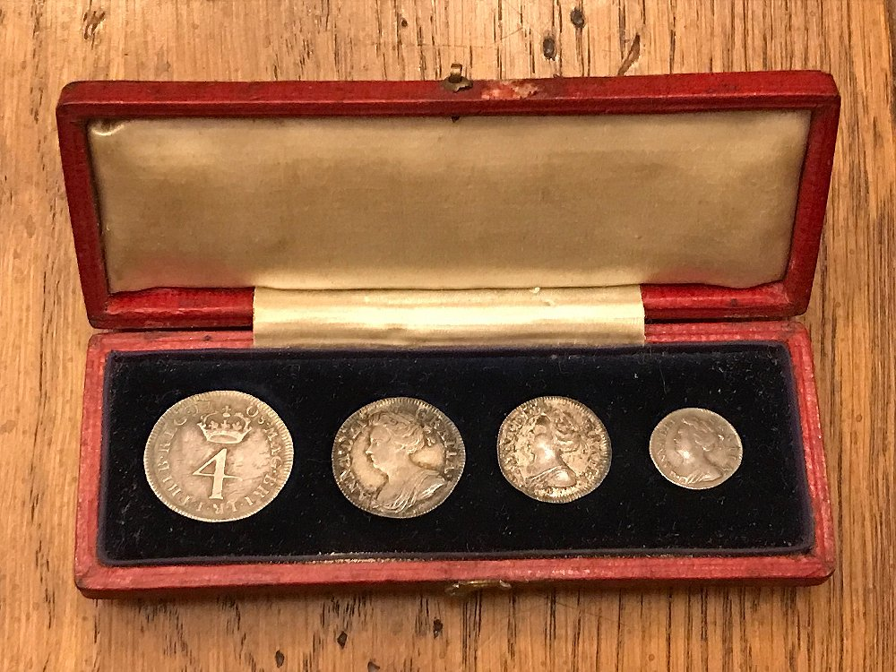 Maundy coin set