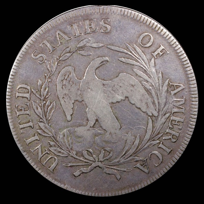 1796 OP Jones Silver Dollar