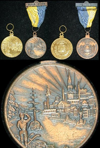 item409_A pair of Sherbrooke Centenary Medals