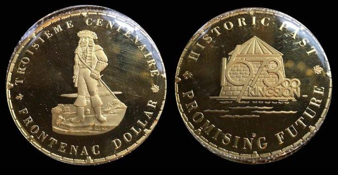 Frontenac Gold Dollar