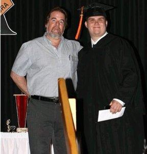 Sean Isaacs with Zachary Tuffin
