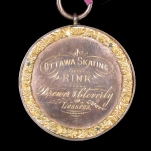 A fine Ottawa Skating Rink Medal of 1876-77