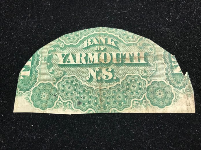 Fragment of bank note