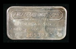 Engelhard Industries of Canada 1 oz Silver Bar 165327 3