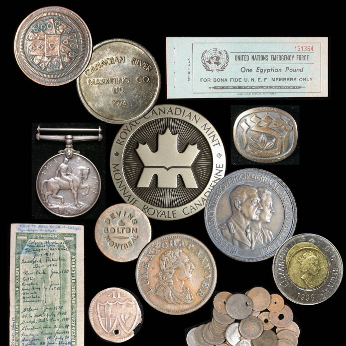 Coins, medals, and more, from our latest ebay coin auction