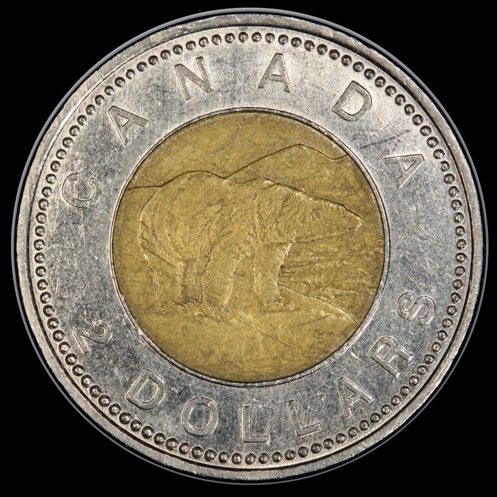The Beaded Twoonie is the holy grail of Canadian Twoonies